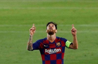 Messi lidera triunfo del Barça sobre el Nápoli para llegar a cuartos de la Champions