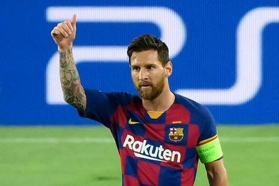 Messi estará disponible ante el Bayern