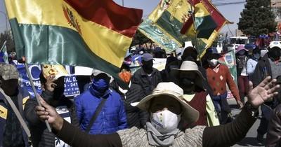 Fracasa diálogo en Bolivia por fecha de elecciones y seguirán las protestas
