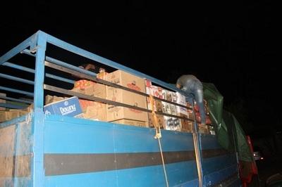 Decomisan unas 30 toneladas de productos ingresados ilegalmente