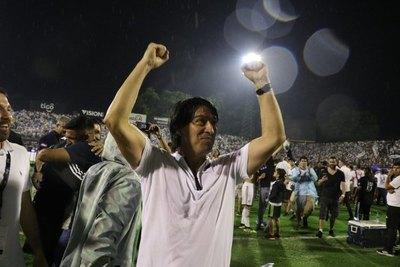 Garnero cumplió 100 partidos locales con Olimpia, de los cuales perdió solo 7