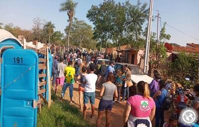 Sintechos vuelven a ocupar el predio de Copaco en Luque • Luque Noticias