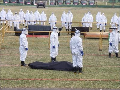 Covid-19: Fuerzas militares presentan protocolo para manejo de cadáveres
