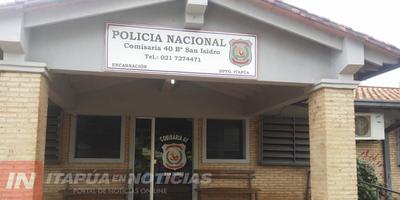 GRUPO LINCE DETIENE A SUP. CRIMINAL CON TRES ÓRDENES DE CAPTURA