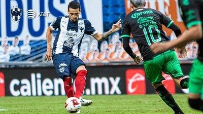 Con Celso Ortiz de titular, Monterrey sella un agónico empate ante Santos Laguna