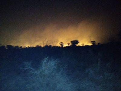 No paran los incendios forestales en el Alto Paraguay