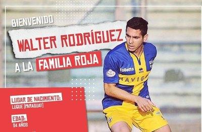 Walter Rodríguez va al DIM de Aldo Bobadilla