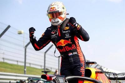 Verstappen se impuso en el Gran Premio 70 aniversario de Fórmula 1