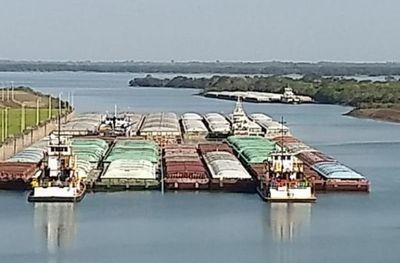 Más de 100 barcazas y 115.000 toneladas de grano se verían beneficiadas con navegabilidad