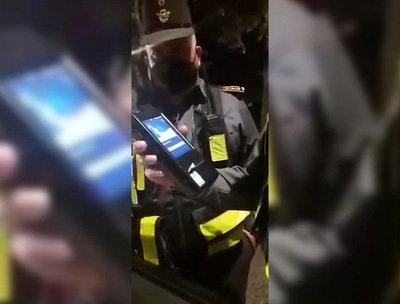 Conductor denuncia irregularidades en control de Patrulla Caminera