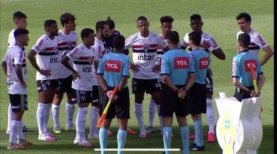 Suspenden Goiás-Sao Paulo por casos COVID y los equipos estaban en cancha