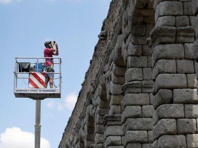 El acueducto romano de Segovia, 2.000 años en perfecto estado