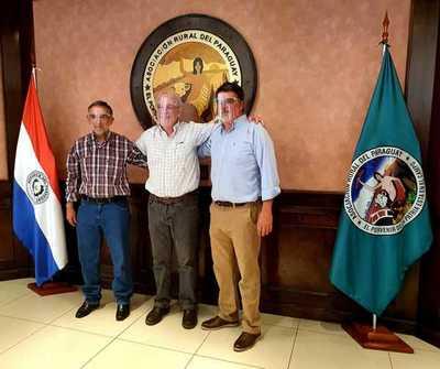 Así quedó conformada la Comisión Directiva Central de la Asociación Rural del Paraguay