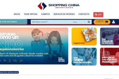 Shopping China incursiona en el e