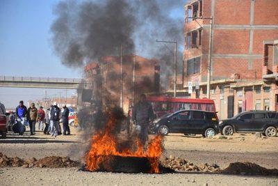 Las protestas se mantienen en Bolivia tras fracasar los intentos de diálogo