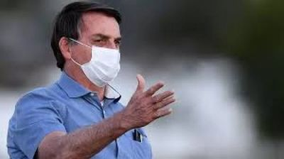 Bolsonaro habla sobre las 100.000 muertes por COVID-19 pero critica a los medios