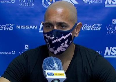 """Sergio Orteman: """"El equipo mejoró"""""""
