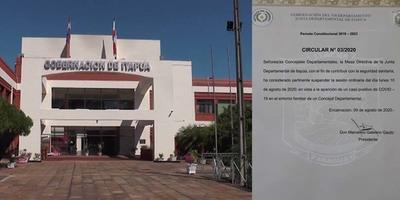 SUSPENDEN SESIÓN DE LA JUNTA DEPARTAMENTAL POR UN CASO DE COVID-19