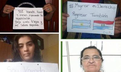 «Soy varado/a», campaña de compatriotas que esperan volver de Argentina