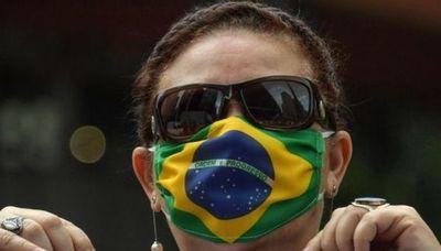Brasil registra 572 nuevas muertes por Covid-19 y el total aumenta a 101,049