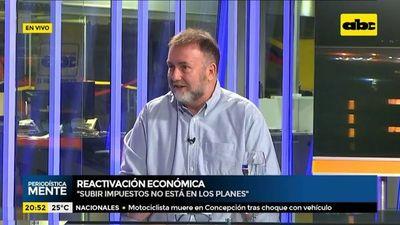 Benigno López no pretende subir ni bajar impuestos