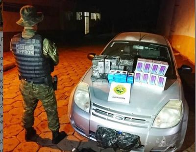 Incautan electrónicos de contrabando