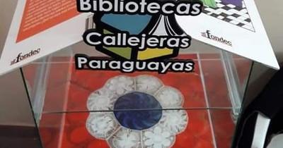 Biblioteca Callejera Nº 97 inauguran en Urgencias