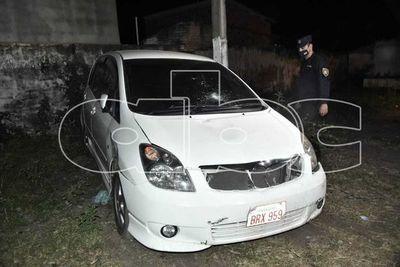 Ebria al volante chocó a una pareja en Reducto