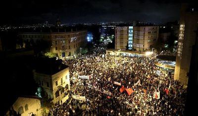 Masivas protestas contra Netanyahu por  corrupción