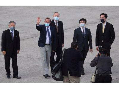 Alto cargo de EEUU realiza una visita histórica a Taiwán