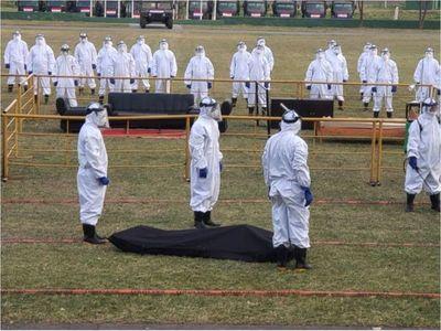 Militares están listos para  eventuales muertes masivas