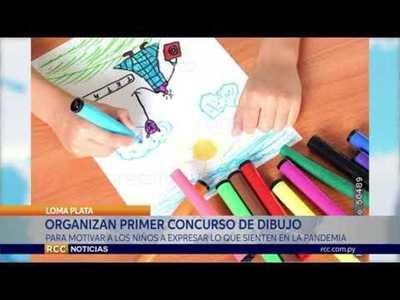 """ORGANIZAN """"PRIMER CONCURSO DE DIBUJO POR EL DÍA DEL NIÑO"""""""