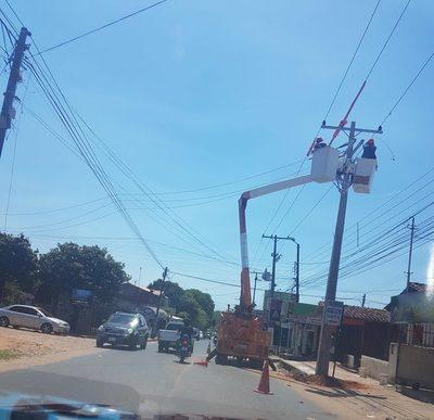 Laurelty: Vecinos de once cuadras de estarán sin energía eléctrica