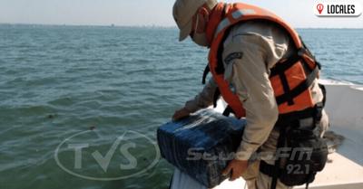 Incautan un cargamento de casi 255 kilos de marihuana que flotaba en el río Paraná