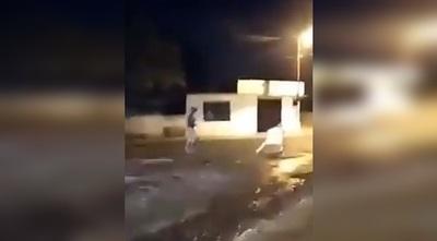 En medio de festejos por salir de prisión joven apuñaló a su padrastro