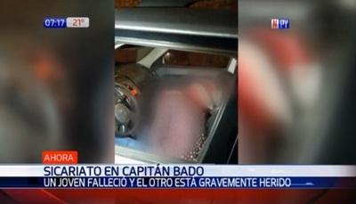 Adolescente muere acribillado en Capitán Bado
