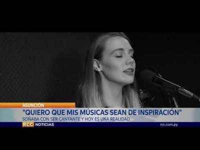 JOVEN MENONITA CAMINA HACIA SU SUEÑO DE SER EXITOSA CANTANTE
