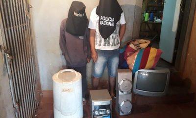 """Tres delincuentes detenidos por  """"pelar"""" vivienda de un vecino – Diario TNPRESS"""
