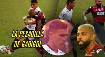"""Junior Alonso fue """"pesadilla"""" de Gabigol"""
