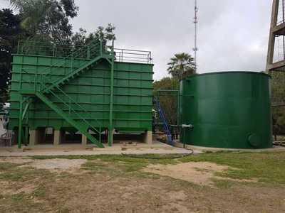 Un barrio de Carmelo Peralta sufre de falta de agua a pesar de estar al lado del río