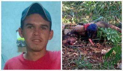 Joven fue hallado con el cuerpo semicalcinado y con heridas de bala en un patio baldío de Pedro Juan Caballero