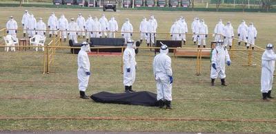 Compañía de Manejo de Cadáveres, la subunidad militar que ayudará a Salud en caso de colapso por coronavirus