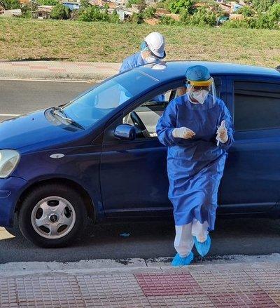 Covid-19: Retoman toma de muestras en Costanera y Caminera