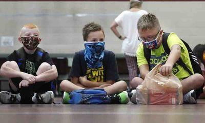 EEUU: más de 97 mil niños se contagiaron de coronavirus en la segunda quincena de julio, un aumento de 40% – Prensa 5