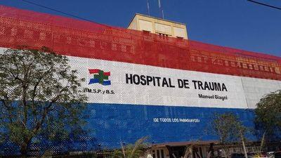 El Hospital del Trauma está abarrotado de pacientes, confirma director
