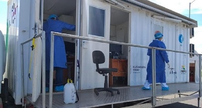 Desde hoy retoman realización de hisopados para covid-19 en Costanera y Caminera