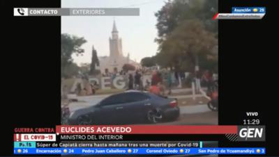 HOY / Euclides Acevedo, ministro del Interior, sobre incumplimiento del protocolo sanitario por parte de la ciudadanía