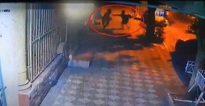 Brutal ataque callejero de motochorros en Lambaré