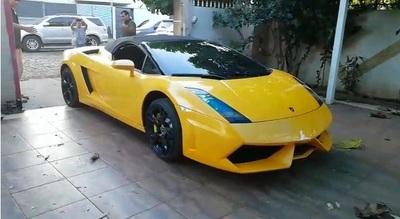 También deberían rematar bienes de políticos corruptos: Autorizan la venta del Lamborghini de Cucho