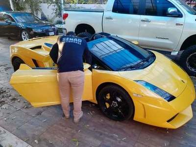 """En venta auto Lamborghini de """"Cucho"""", valuado en USD 220.000"""